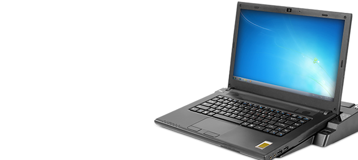 Cirrus LT, the world's first zero client laptop.