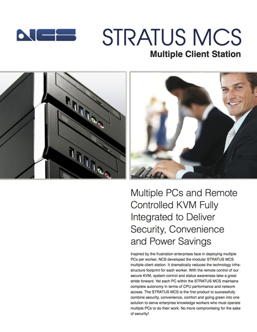Stratus MCS Delivers Security, Convenience and Energy Savings
