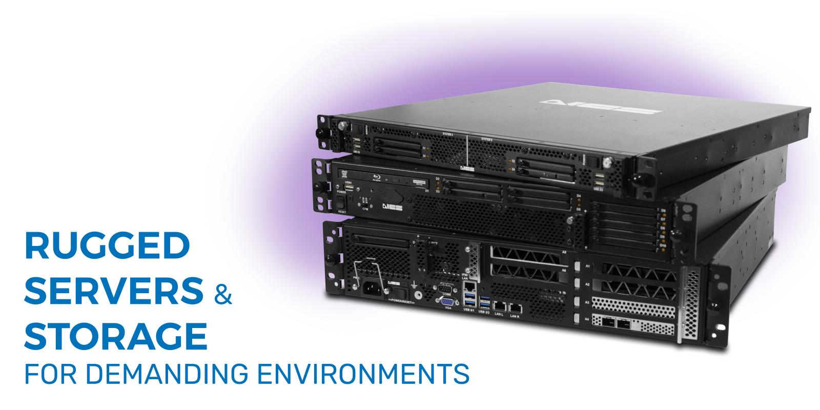 Rugged Servers & Storage for Demanding Environments